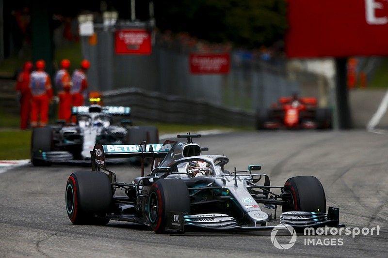 Mercedes admite que no tenía el paquete ideal para Spa y Monza