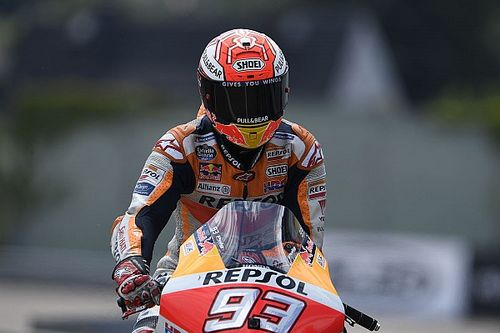 MotoGP, Sachsenring, Warm-Up: Marquez al top, riscossa Ducati sull'umido