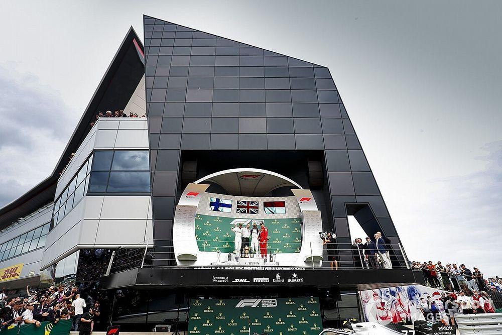 British GP 'very encouraged' by talks over UK sport resuming