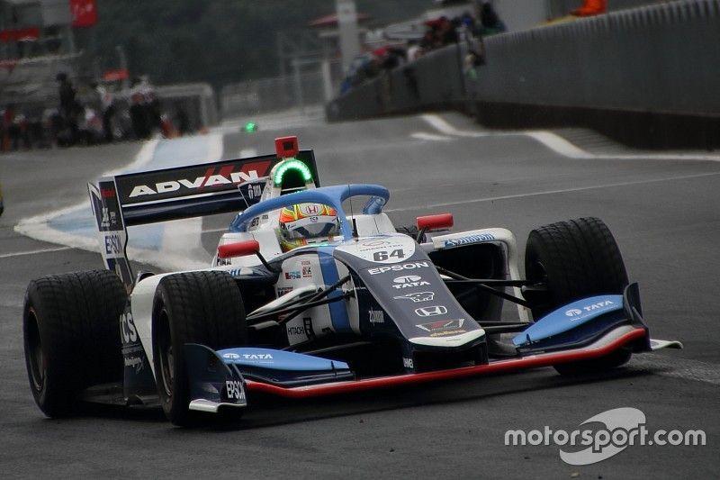 Fuji Super Formula: Palou dominates wet race for first win