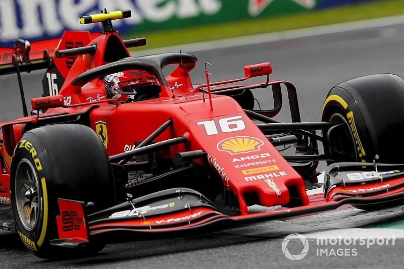 Leclerc fica 0s068 à frente de Hamilton e lidera 2º treino da F1 em Monza