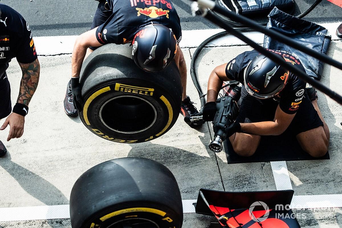FIA 'bevriest' ontwikkeling van pitstopgereedschap