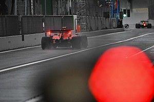 Leclerc roba a Sainz la primera posición de una FP1 accidentada