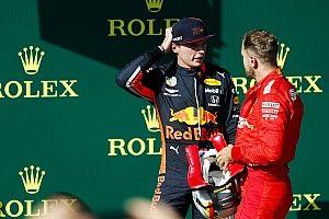 """Verstappen: """"Aprendí más de Vettel que de Hamilton"""""""