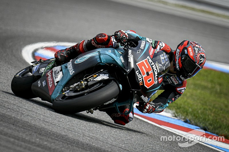 Quartararo userà le forcelle in carbonio dal Red Bull Ring