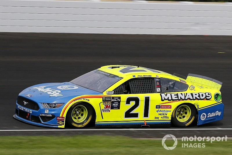 DiBenedetto in at Wood Brothers in 2020, Menard retires