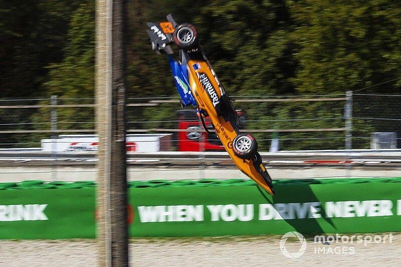 Peroni salterà Sochi dopo il terribile incidente di Monza