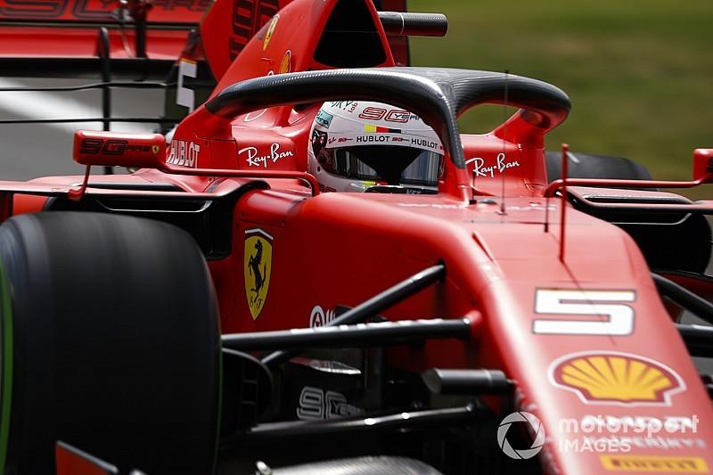 «Часть новинок придется снять с машины». Феттель подвел итоги пятницы для Ferrari