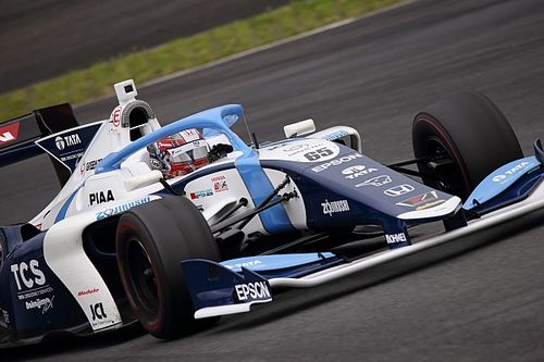 Fuji Super Formula: Palou leads Newey in practice