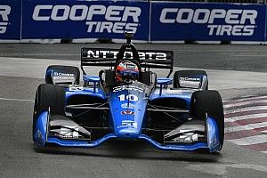 Toronto IndyCar: Rosenqvist leads Power in warm-up