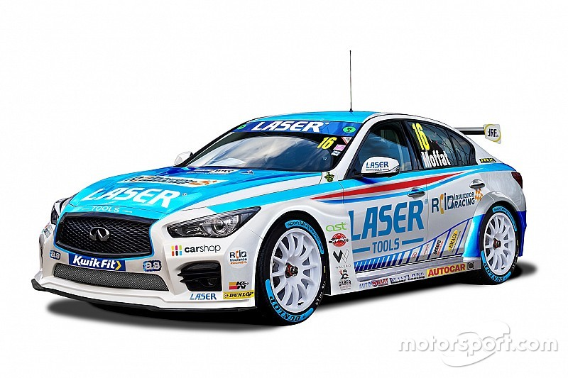 Infiniti returns to BTCC with Laser Tools Racing