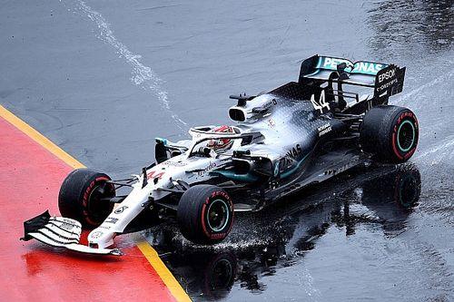 La frustración de Hamilton pudo haber hecho puntuar a los dos Williams