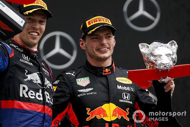 Honda celebra su doble podio... ¿con un dardo a Alonso?