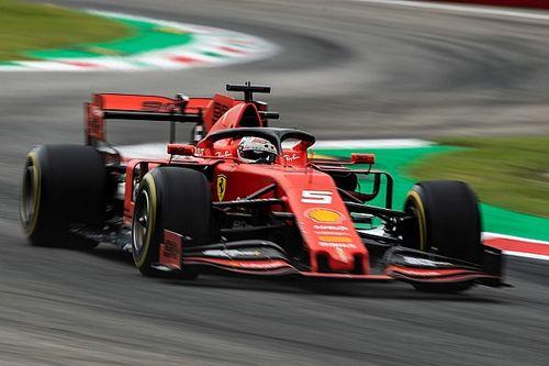 F1イタリアFP3:ベッテルがトップタイム。レッドブルのフェルスタッペンが2番手で肉薄