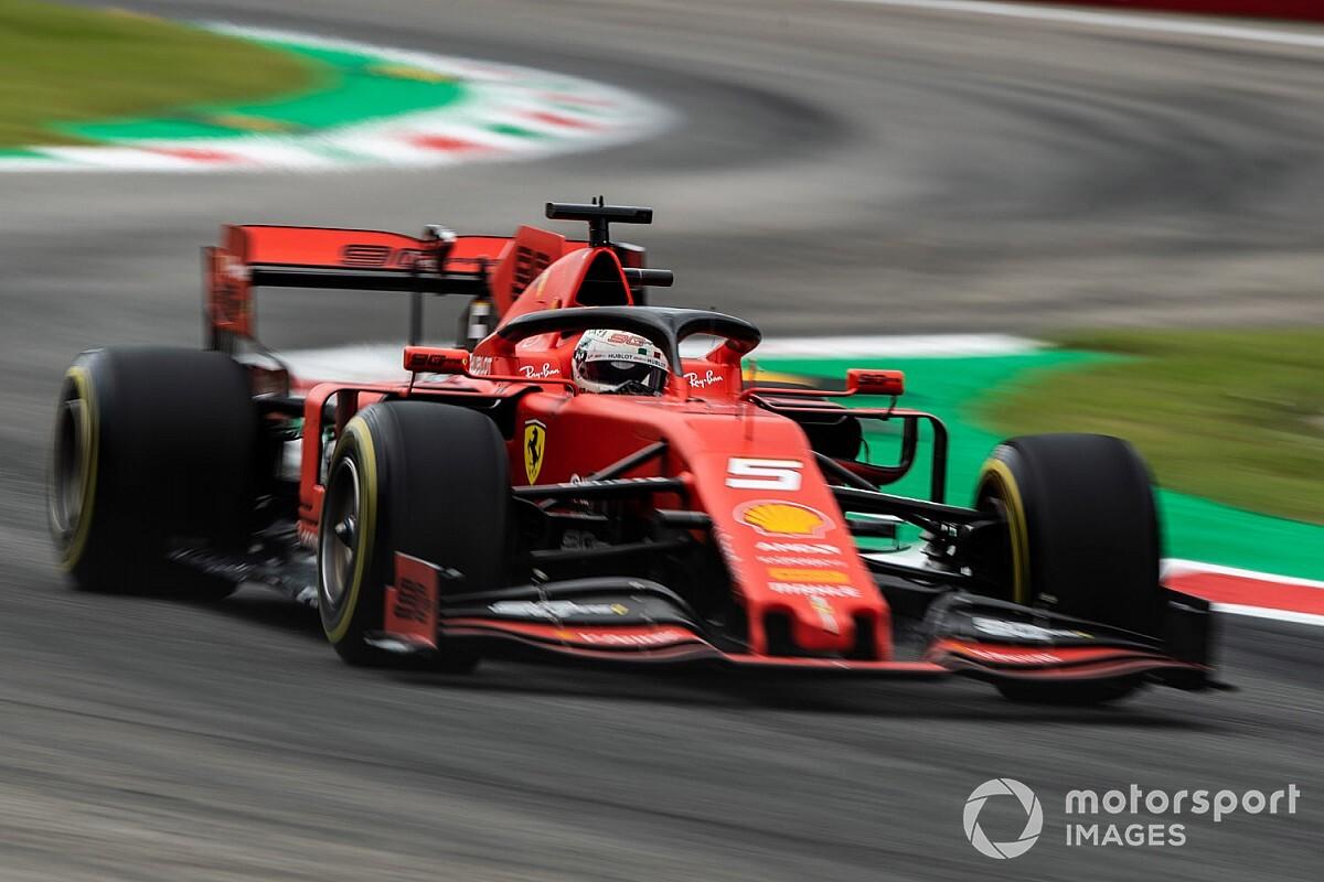 Vettel nyerte a hihetetlenül szoros FP3-at, Ricciardo 5. a Renault-val