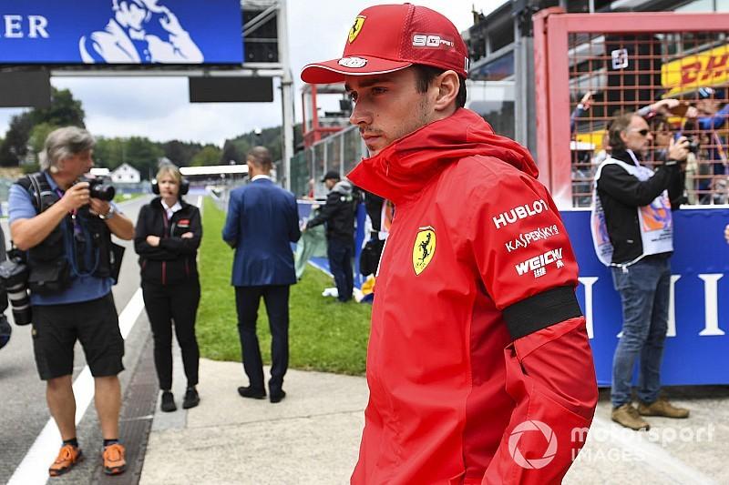 100%喜ぶことはできない……ルクレール、F1初勝利を亡きユベールに捧げる