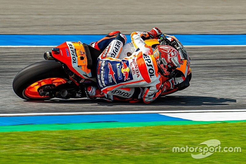 """Marquez knew about """"big chance"""" of a crash in qualifying"""