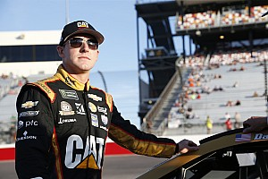 Daniel Hemric leads final Cup practice at Kansas