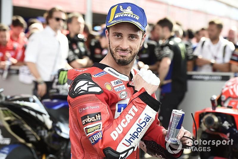 """Dovizioso: """"Rossi y Rins pelearán por el título hasta el final"""""""