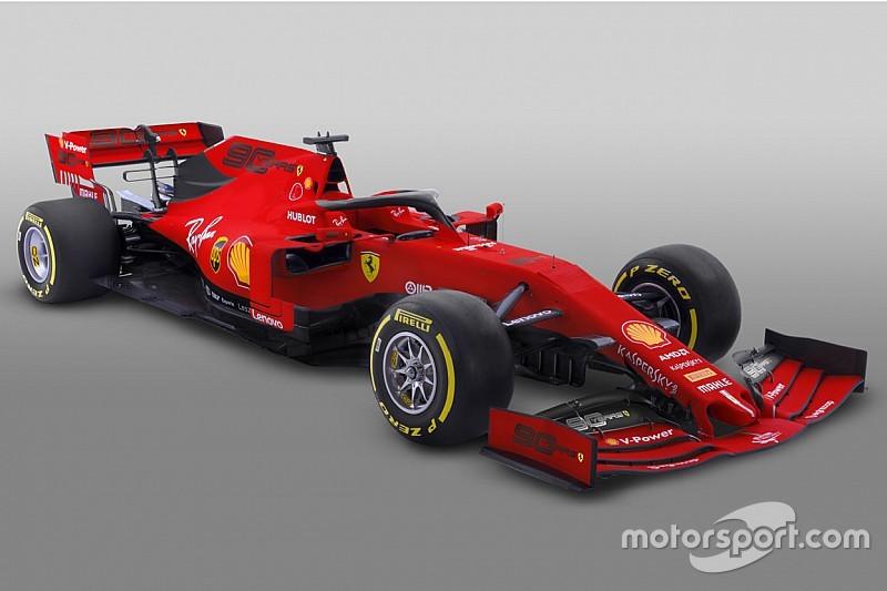 Ferrari toont lichtelijk gewijzigde livery voor Grand Prix van Australië