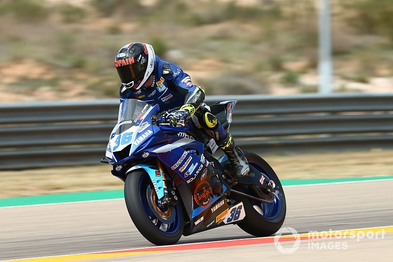 Supersport, Aragon: prima Superpole per Gradinger