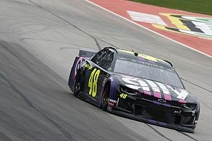 Jimmie Johnson surprises with Texas pole in bizarre qualifying
