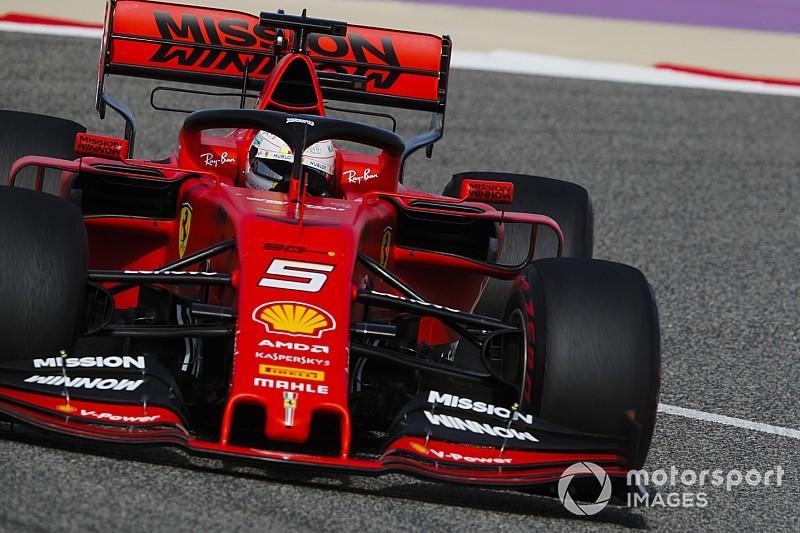 Vettel henüz araçta %100 rahat değil