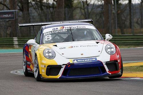 Carrera Cup Italia, test a Imola: Bertonelli tira il gruppo su Iaquinta e Mosca