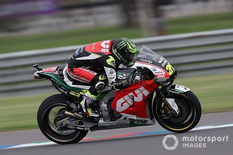 Pembalap MotoGP benarkan penalti untuk Crutchlow
