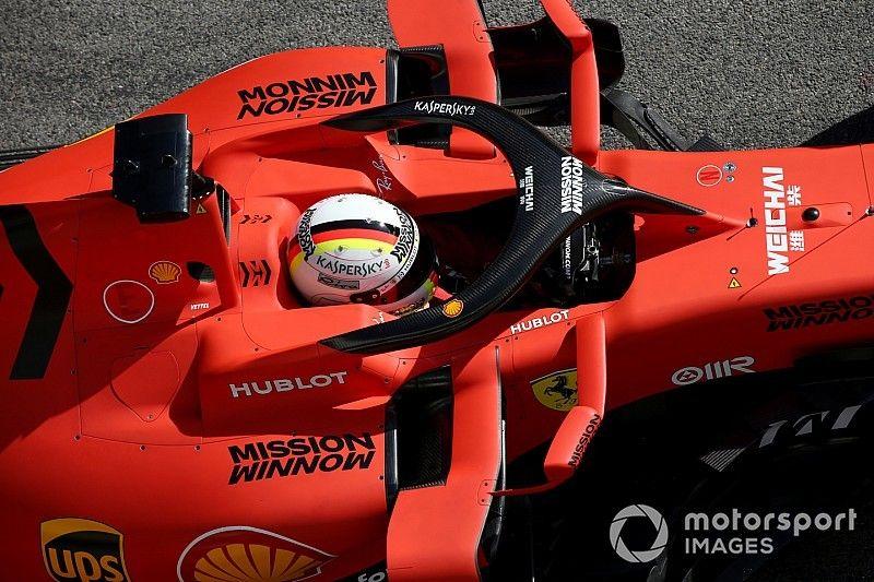 Los cascos de Vettel, Verstappen, Ricciardo y Gasly, aprobados