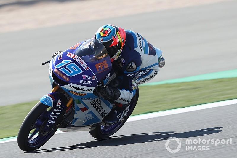 Moto3, Jerez, Libere 3: bella zampata di Rodrigo, Antonelli è quarto