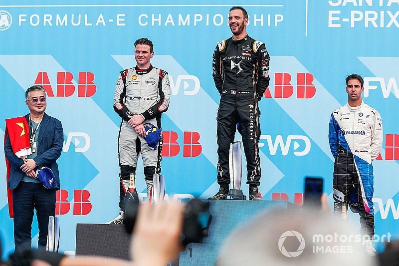 Sanya E-Prix: Champion Vergne wins two-part race