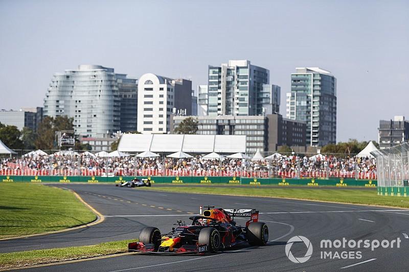 """Verstappen doet vertrouwen op in Melbourne: """"Topsnelheid zit wel goed"""""""