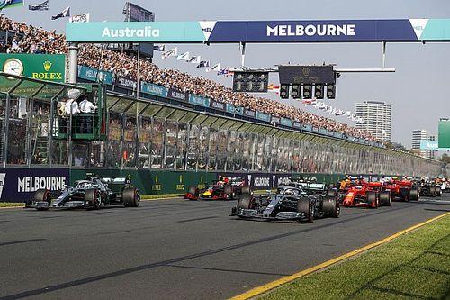 Formule 1 tot en met 2025 naar Albert Park in Melbourne