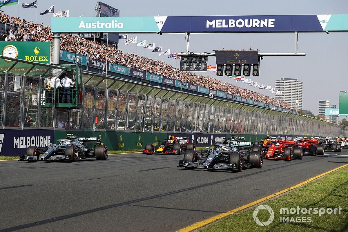 Fórmula 1 revela datas de testes da pré-temporada e calendário completo para 2020