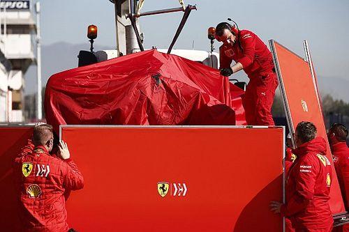 Crash Ferrari: dopo l'incidente di Vettel la SF90 potrebbe non tornare in pista