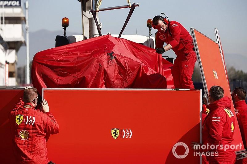 Barcelone, J6 - Vettel dans le mur, Sainz meilleur chrono