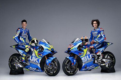 Szinte változatlan festéssel folytatja a Suzuki a MotoGP-ben