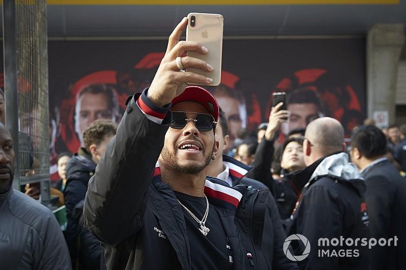 Hamilton és a szombati nap képekben: FP3, időmérő...