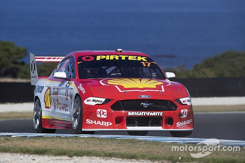 Phillip Island Supercars: McLaughlin beats Coulthard to pole