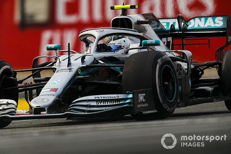 Çin GP 3. antrenman: Bottas lider, Albon büyük bir kaza yaptı