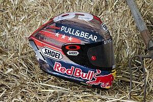 Márquez dévoile son casque pour Austin, inspiré des ranchs