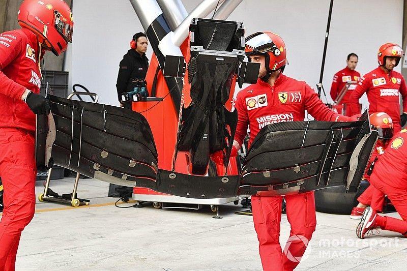 Lézer, de nem blokkoló – feltárul a Ferrari szárnyának alsó fele
