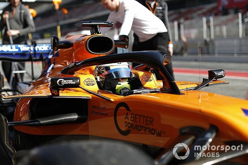 Видео: McLaren впервые завела новую машину