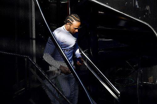 """Hamilton: """"Estamos detrás de Ferrari, pero no estoy muy preocupado"""""""