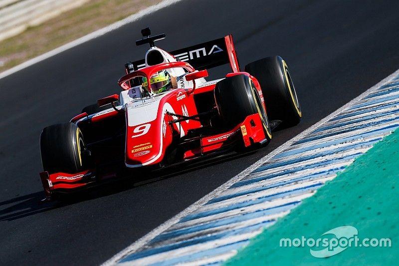 Schumacher frappe un grand coup à Jerez