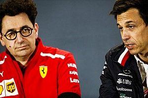 Wolff spera in una riduzione di potenza del motore Ferrari, ma Binotto la esclude