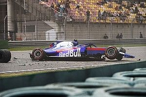 Formel-1-Training China: Frühes Ende wegen Albon-Crash