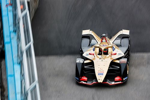 Rome E-Prix: Vergne fastest in disrupted practice