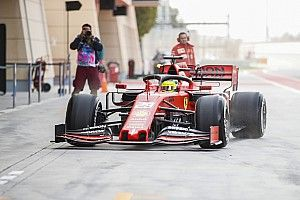 Schumacher begins maiden Ferrari F1 test in Bahrain